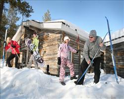 Saariselkä Log Cabins - (4 star cabins)