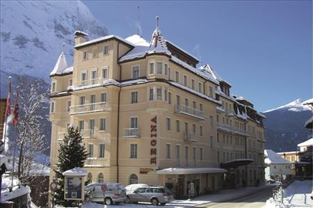 Grand Hotel Regina Grindelwald Switzerland Sno